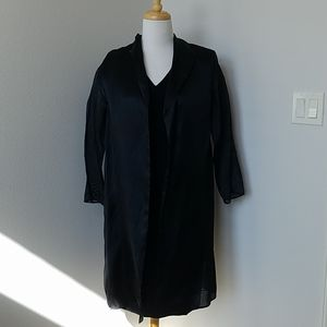 Lafayette 148 NY Black Sheath Dress & Silk Jacket